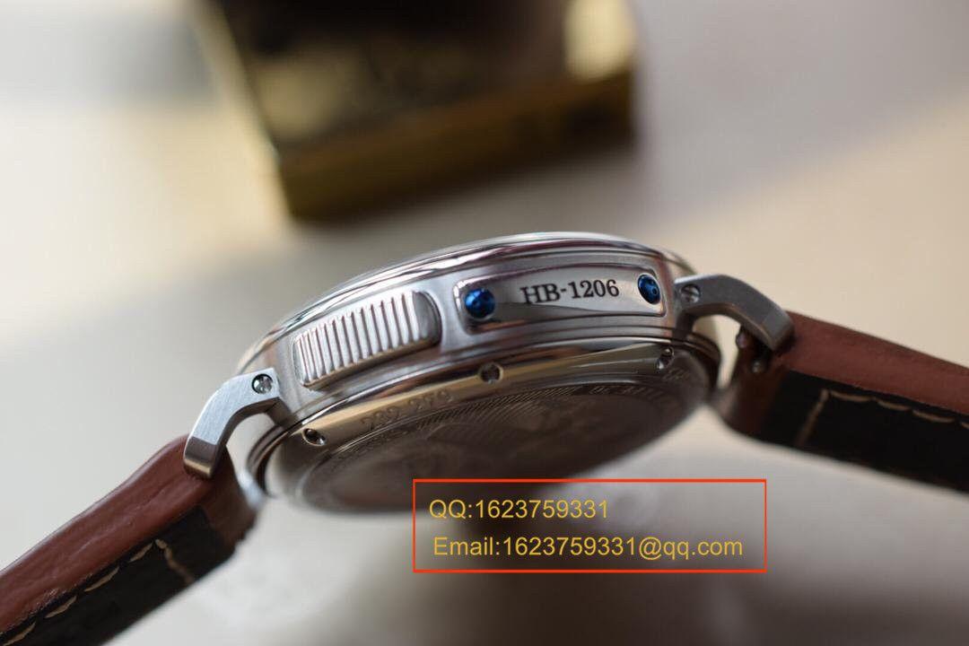 【独家视频测评KW超A一比一复刻手表】真力时飞行员系列03.2430.693/21.C723男表 / ZSL026