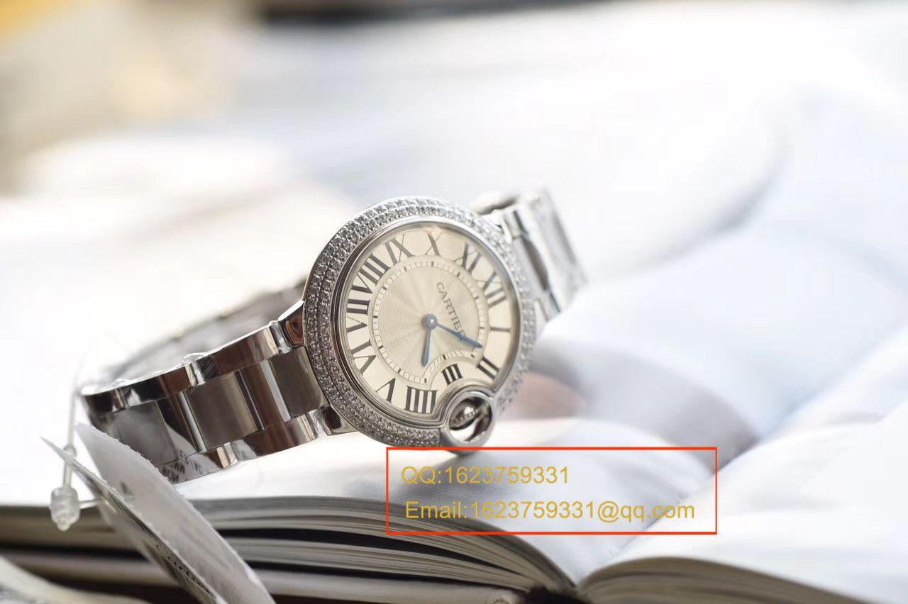【V6厂顶级复刻手表】卡地亚蓝气球系列小号33毫米女士石英机芯腕表 / KAF127