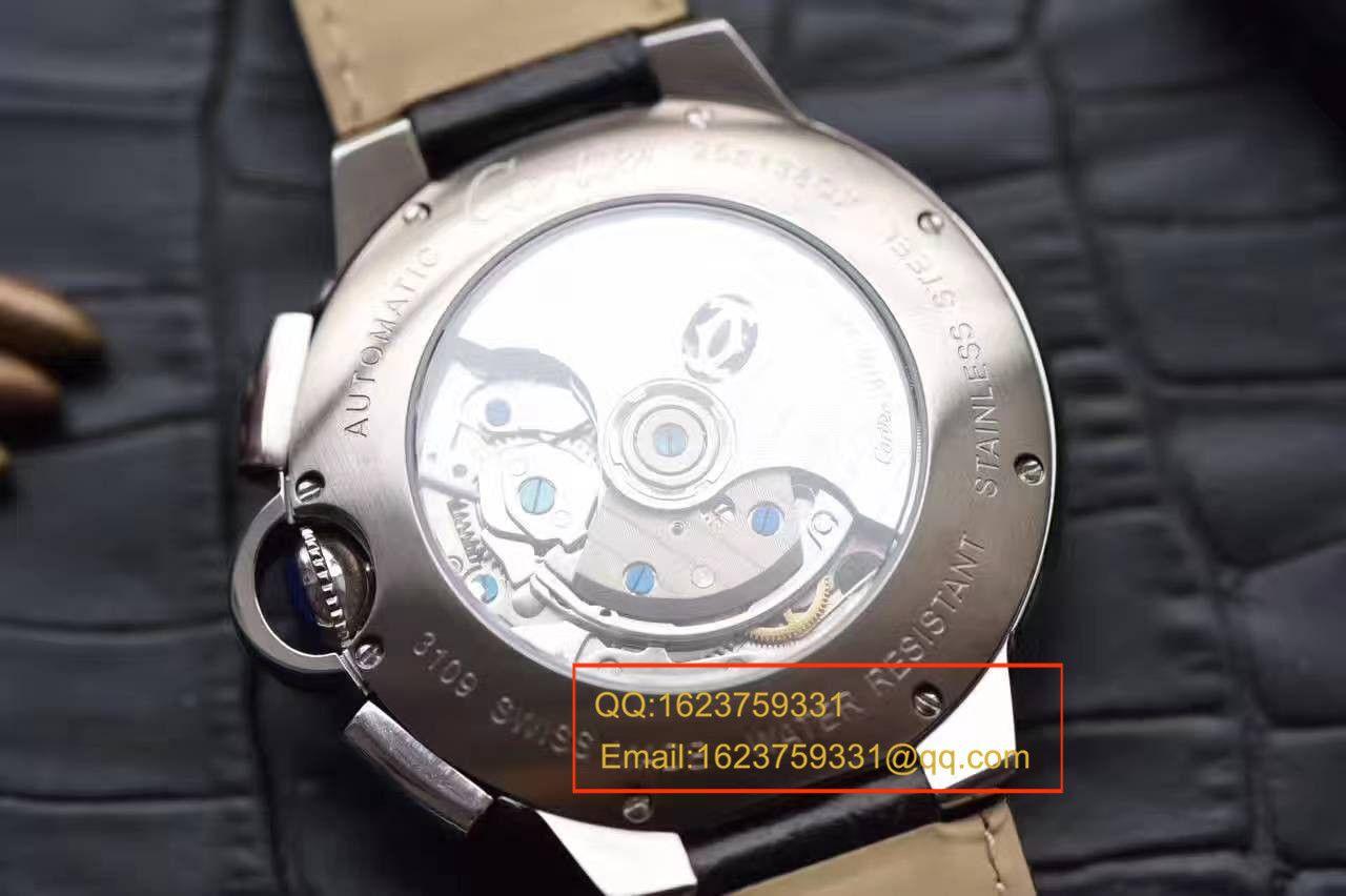 【独家视频测评OF厂最新款正品开模复刻手表】卡地亚蓝气球系列W6920078腕表/W6920052腕表