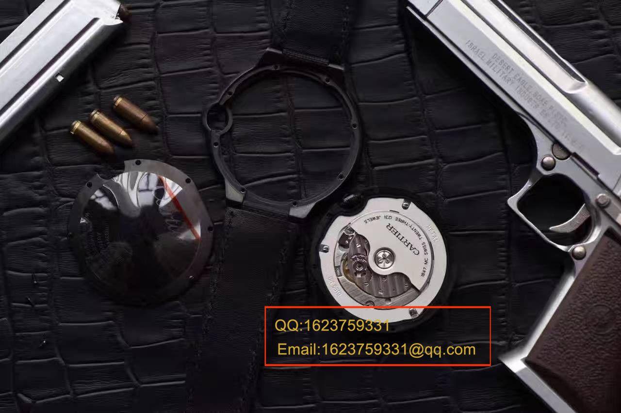 【独家视频测评V6厂1:1高仿手表】卡地亚蓝气球系列黑武士WSBB0015男表42毫米V2版本