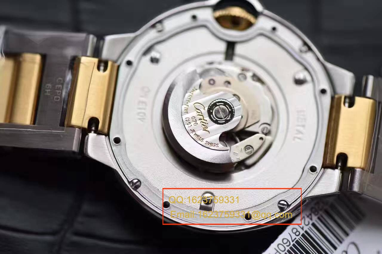 【独家视频测评V6厂1:1超A高仿手表】卡地亚中号蓝气球36毫米系列W2BB0012女士腕表