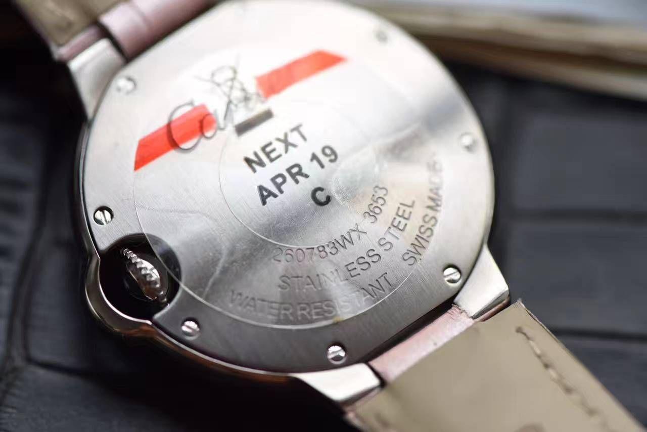 【HBBV6厂一比一超A高仿手表】卡地亚蓝气球系列W6920038女士28毫米/33毫米石英腕表
