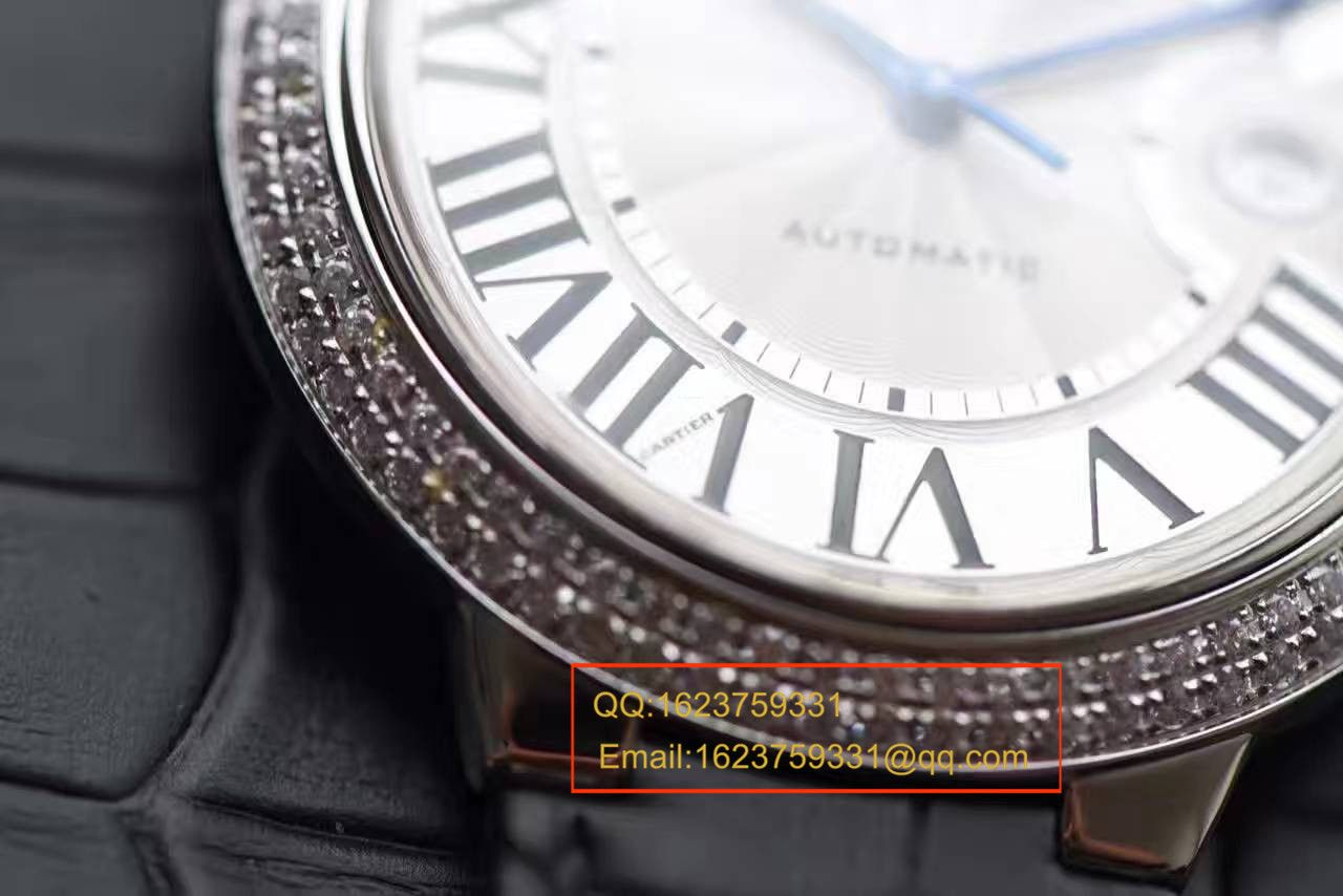 【HBBV6厂一比一超A高仿手表】卡地亚蓝气球系列WE900951男装42毫米镶钻腕表