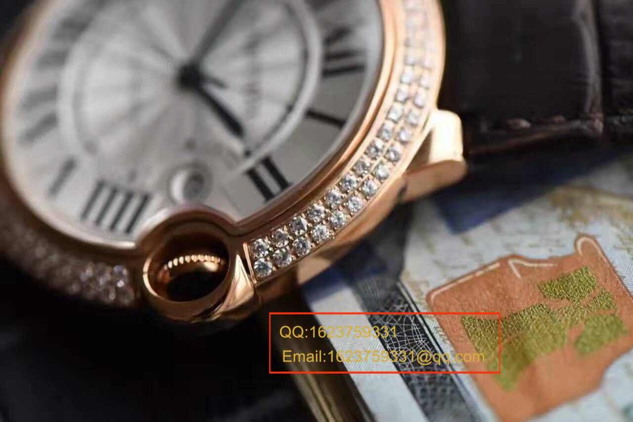【HBBV6厂一比一超A精仿手表】卡地亚蓝气球系列WE900851男士42毫米镶钻腕表