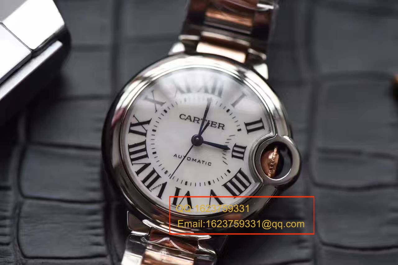 【独家视频评测HBBV6厂顶级复刻33毫米手表】卡地亚蓝气球系列玫瑰金小号蓝气球W6920099女士腕表