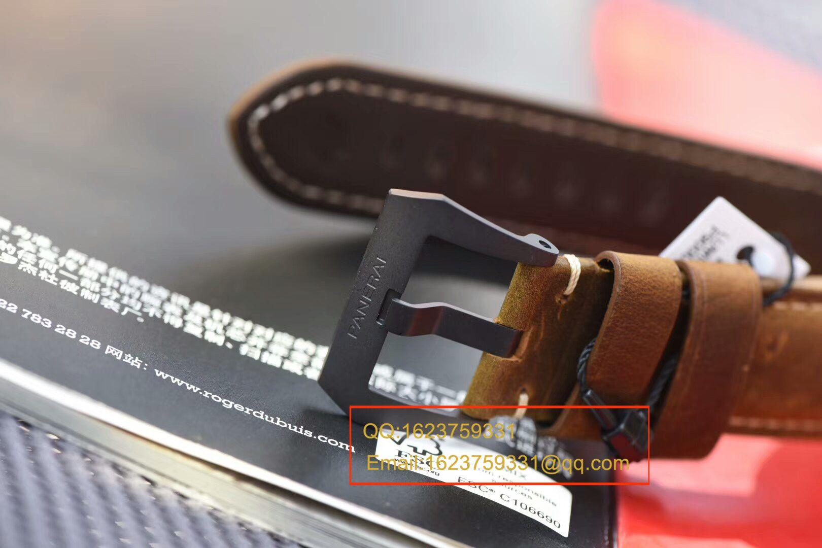 【独家视频测评VS厂复刻手表】沛纳海LUMINOR 1950系列PAM 00386腕表 / VSPAMBB00386
