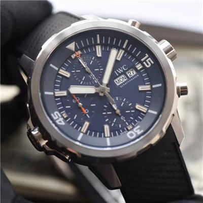 【独家视频测评V6厂一比一超A高仿手表】万国海洋时计系列IW376805蓝面腕表