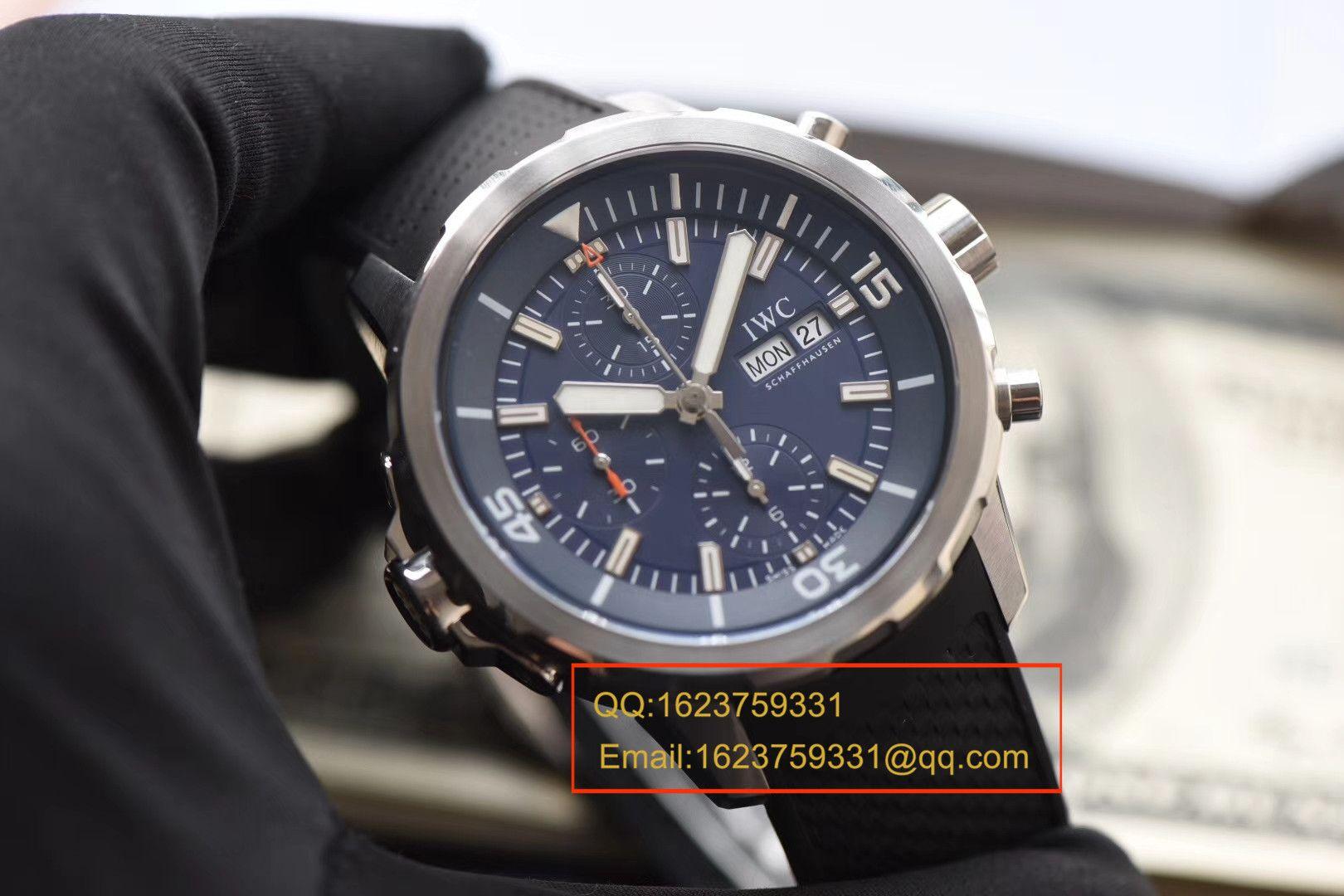 【独家视频测评V6厂一比一超A高仿手表】万国海洋时计系列IW376805蓝面腕表 / WGBD307