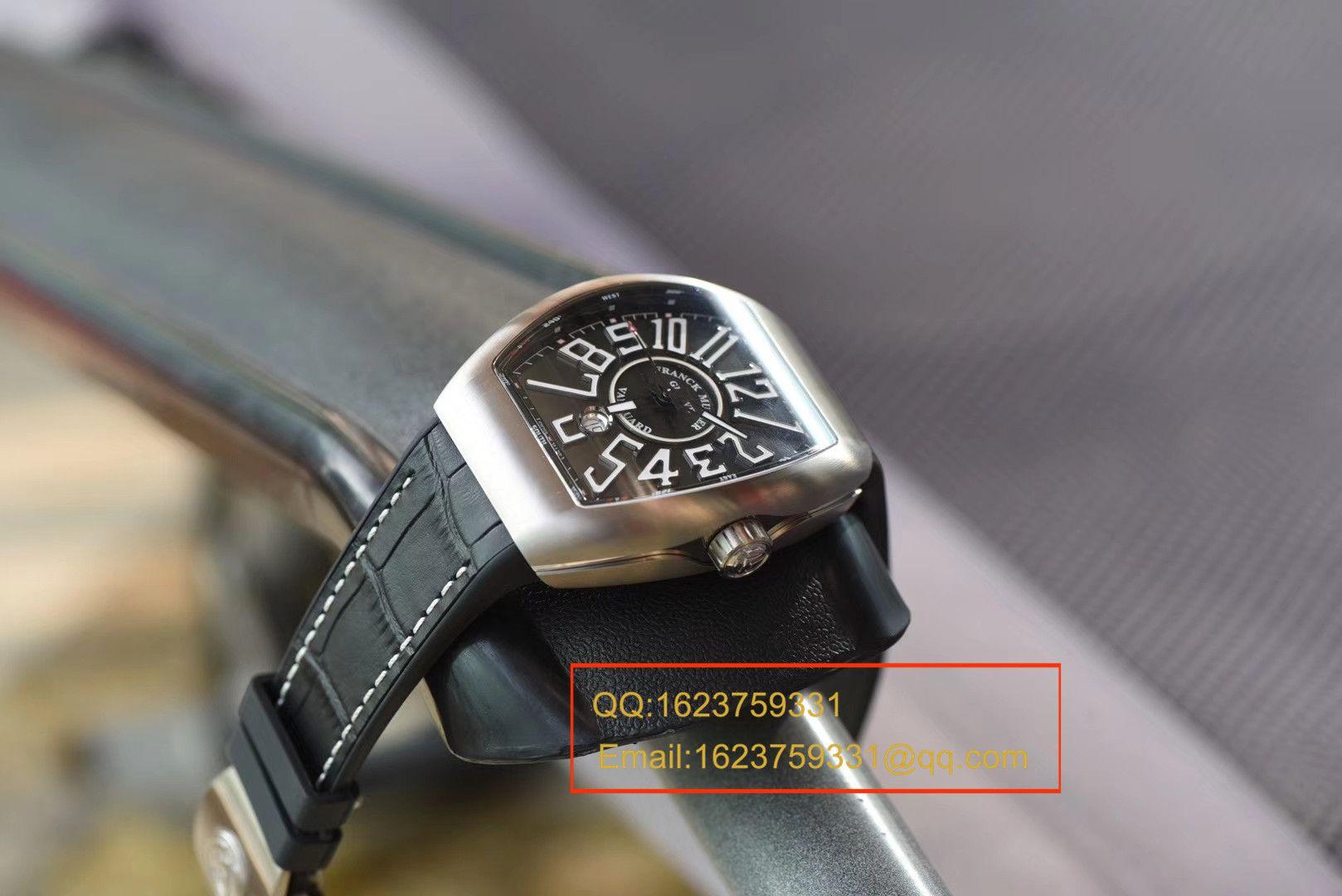 【视频评测TF一比一超A高仿手表】法兰克穆勒VANGUARD系列V 45 S S6腕表 / FLBH017