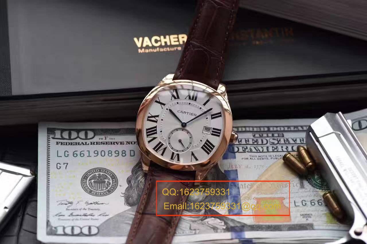 【独家视频解析SY厂顶级复刻手表】卡地亚DRIVE DE CARTIER 系列WSNM0009腕表