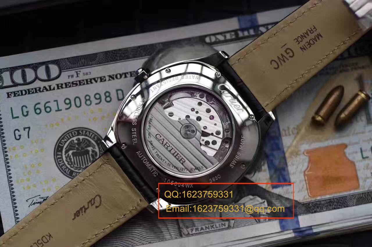 【独家视频测评SY一比一超A高仿手表】卡地亚DRIVE DE CARTIER 系列WSNM0004枕形腕表