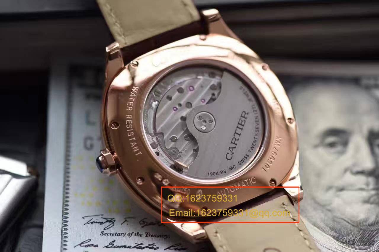【独家视频测评SY一比一超A高仿手表】卡地亚DRIVE DE CARTIER 系列WGNM0003枕形腕表