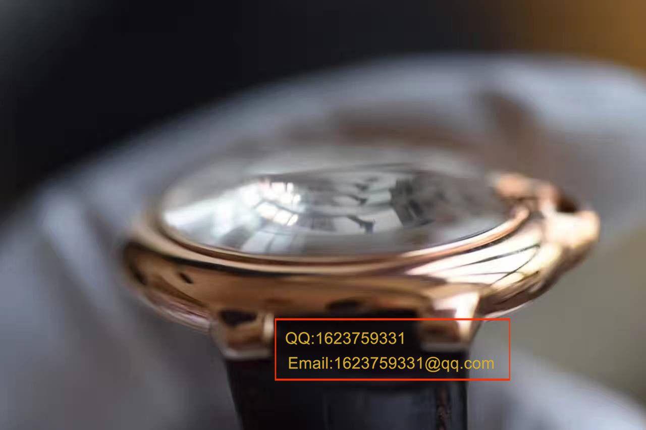 【独家视频测评V6一比一超A高仿手表】卡地亚蓝气球系列W6900456大号36毫米女士机械腕表 / KAF092