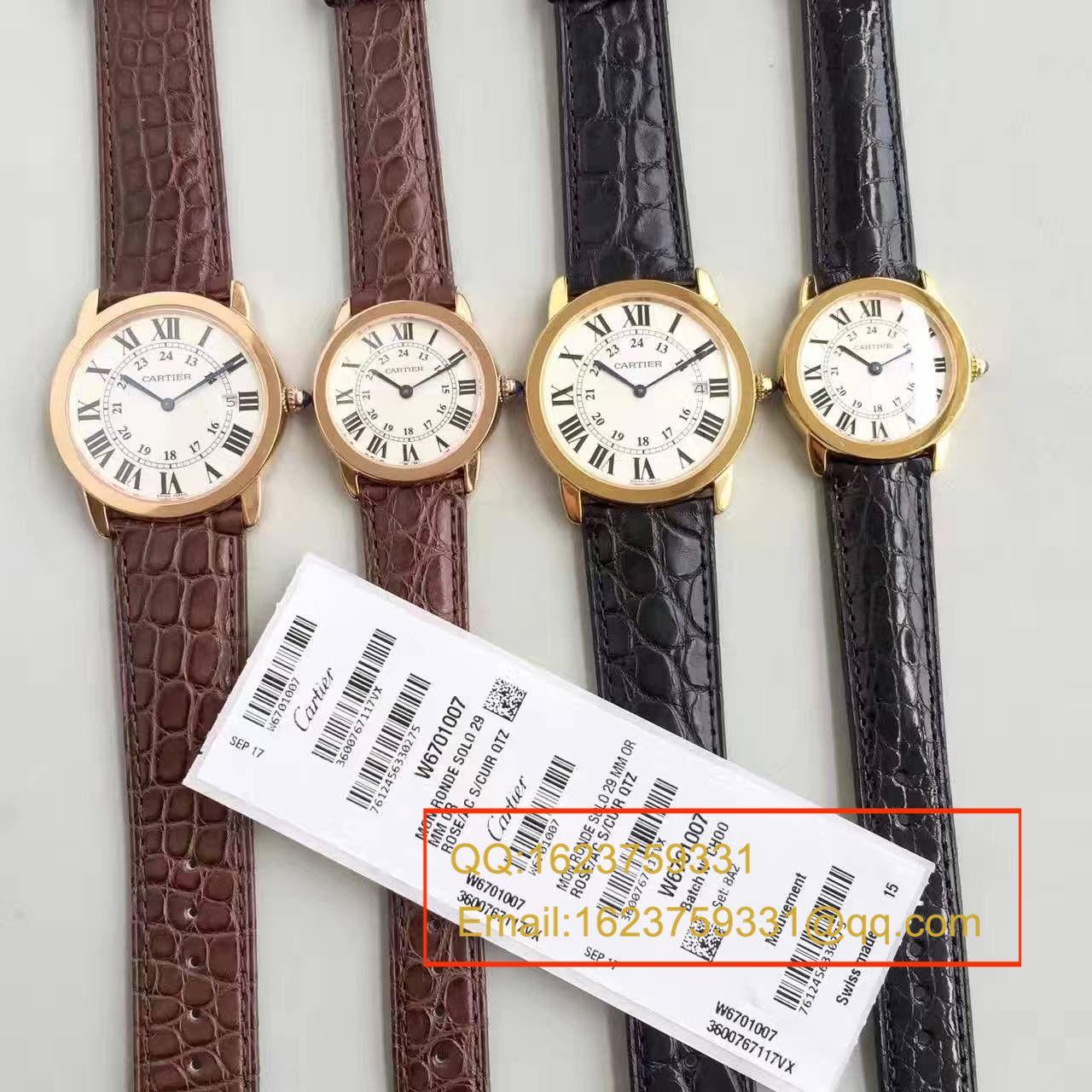 【独家视频测评K11厂1:1超A高仿手表】卡地亚伦敦SOLO系列W6700355和W6700455女表 / KAD080
