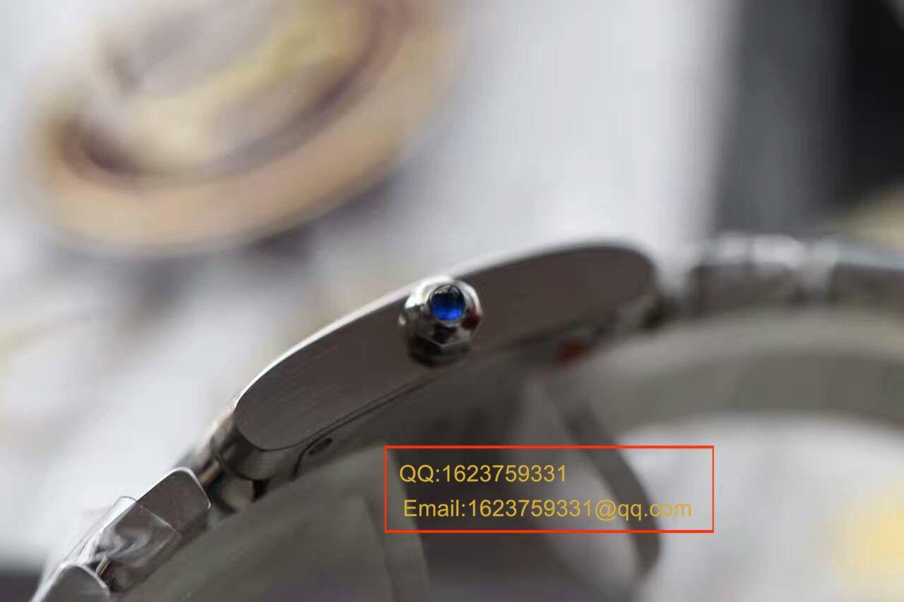 【独家视频测评A8厂1:1超A精仿手表】卡地亚坦克系列W51008Q3女表