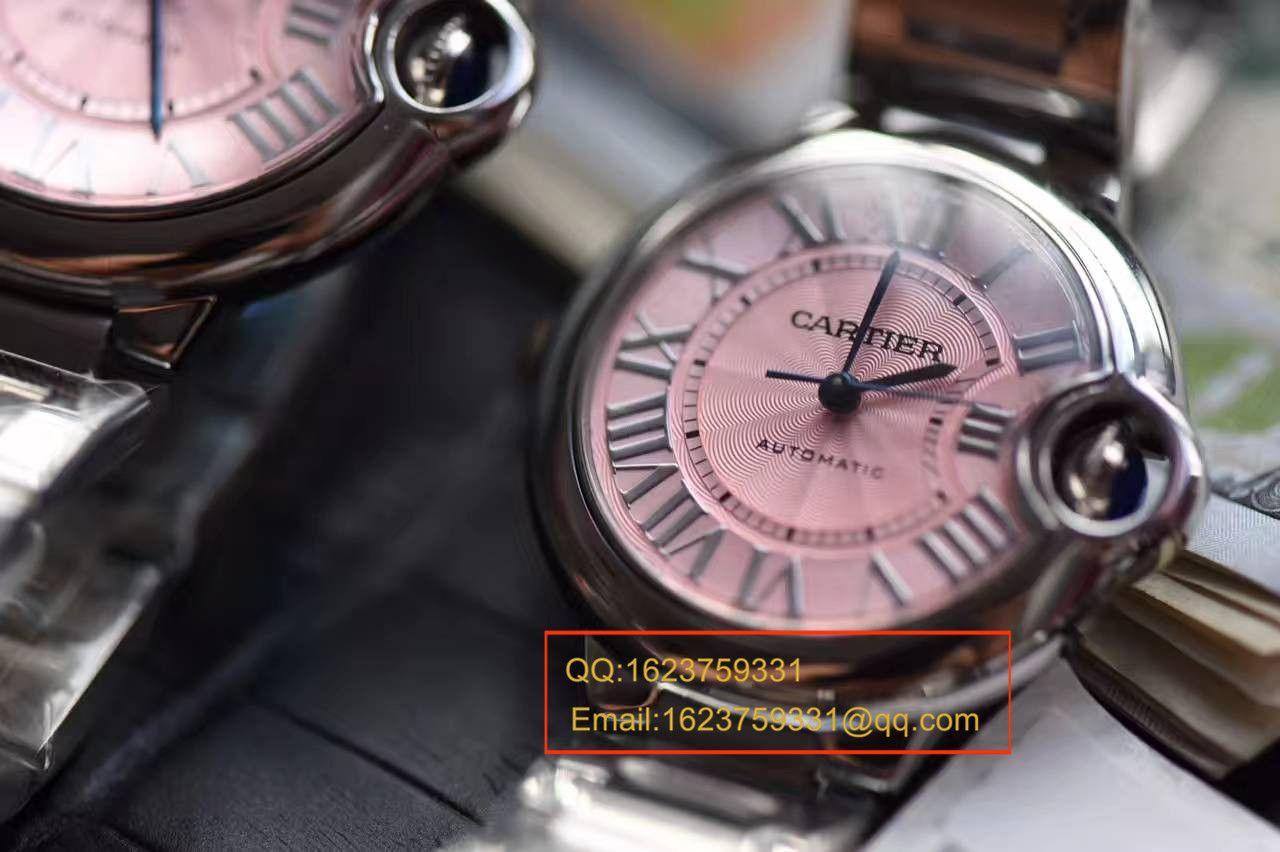 【独家视频测评HBBV6一比一超A高仿手表】卡地亚蓝气球系列W6920100女士33毫米机械版本腕表