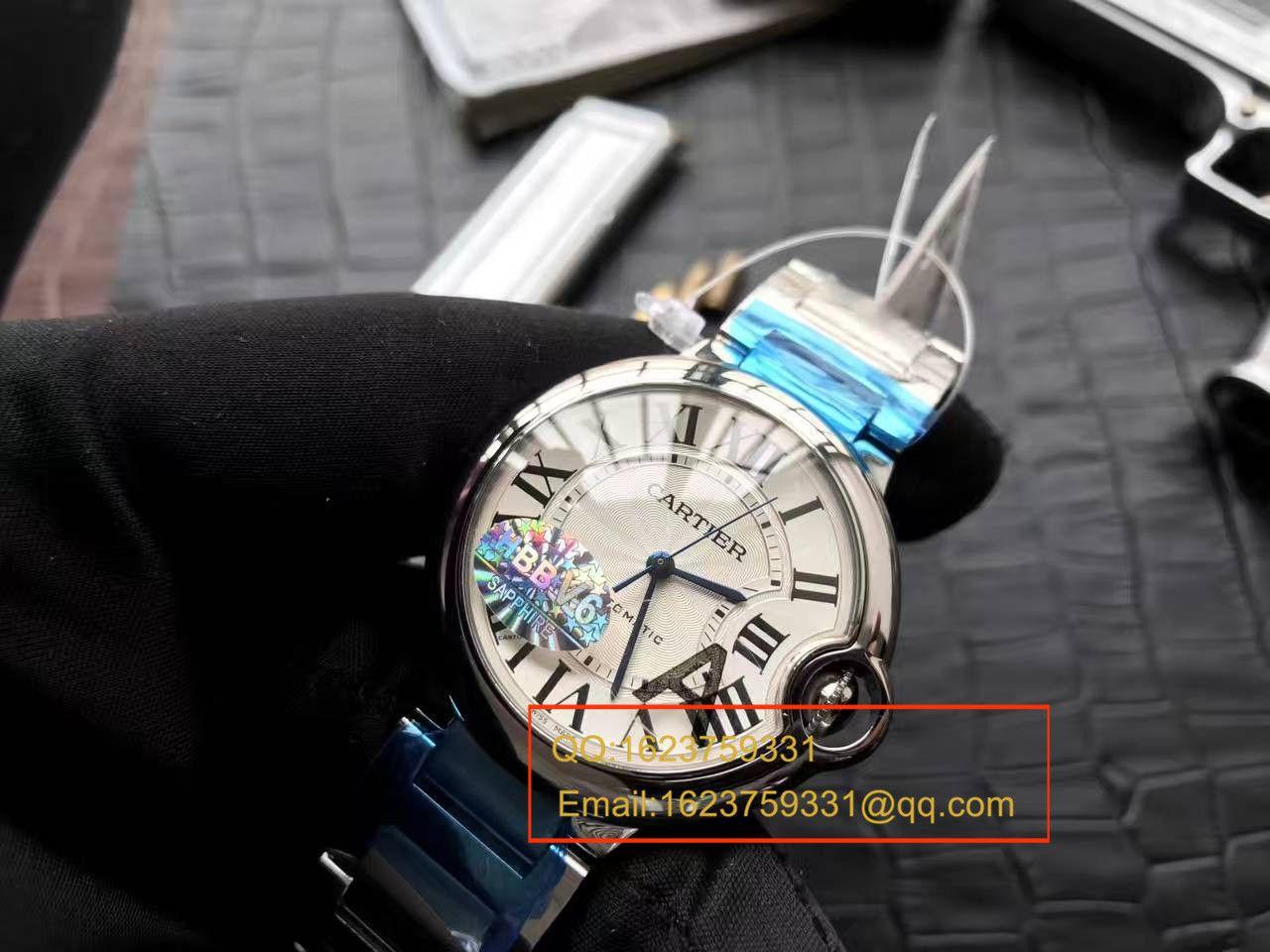 【独家视频测评HBBV6厂一比一精仿手表】卡地亚 蓝气球系列W6920046/W6900556(36毫米)机械女表 / KDY029
