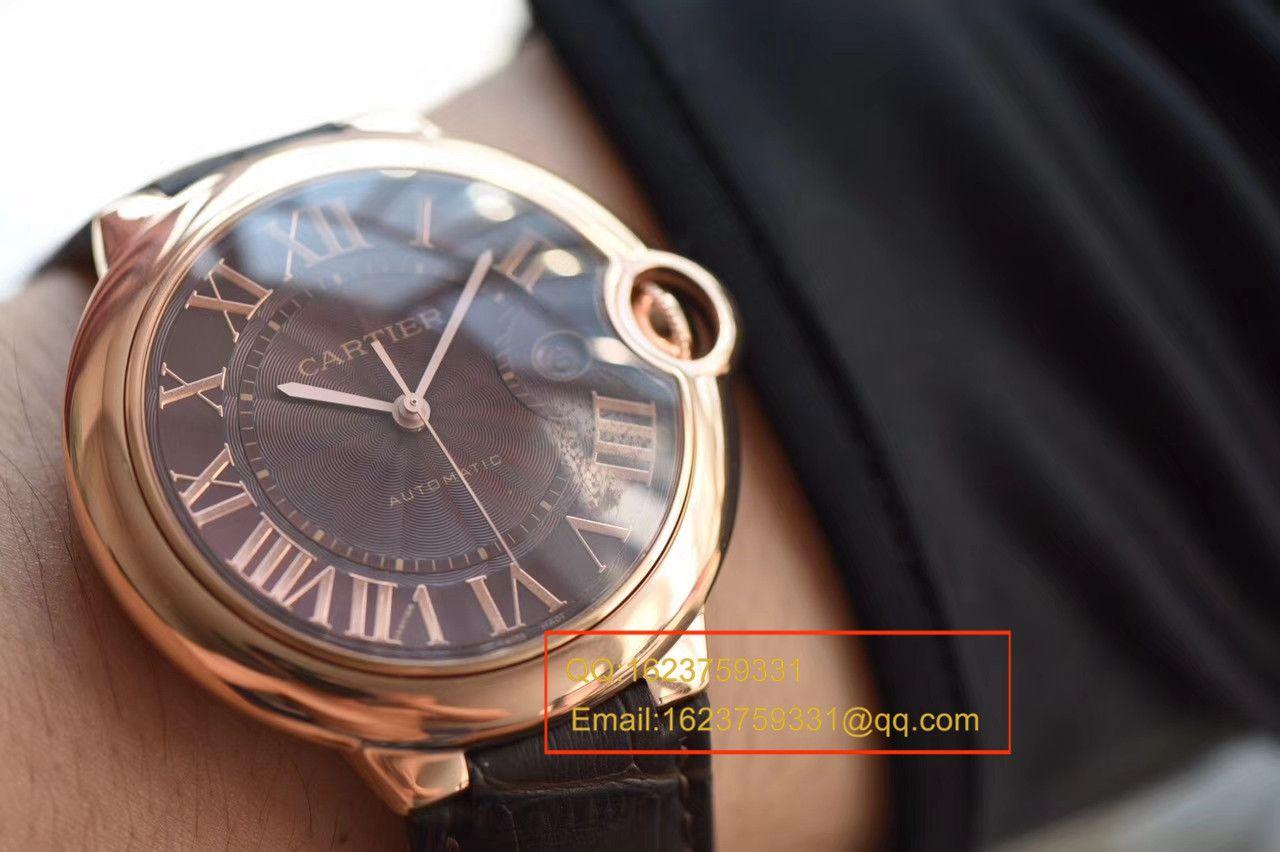 【HBBV6厂1:1高仿手表】卡地亚蓝气球系列W6920037男表《男装42毫米》