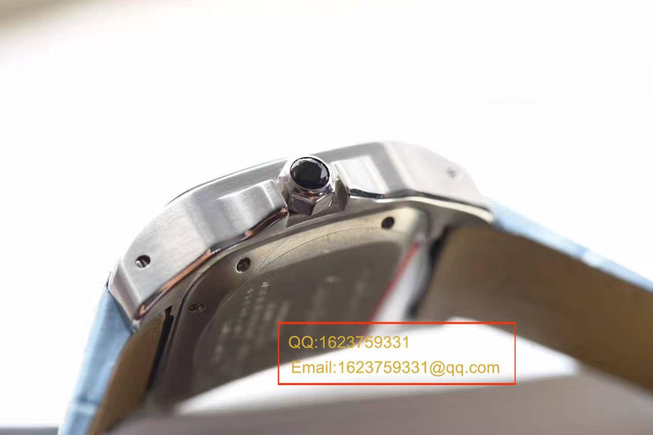 【HBBV6厂一比一超A高仿手表】卡地亚山度士W20106X8机械女士腕表