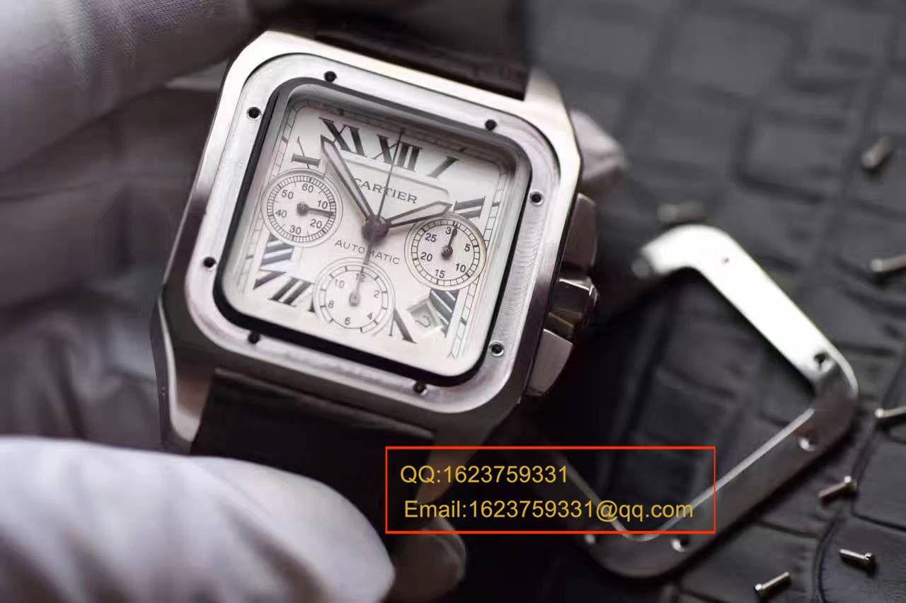 【HBBV6厂1:1复刻高仿手表】卡地亚山度士系列W20090X8腕表