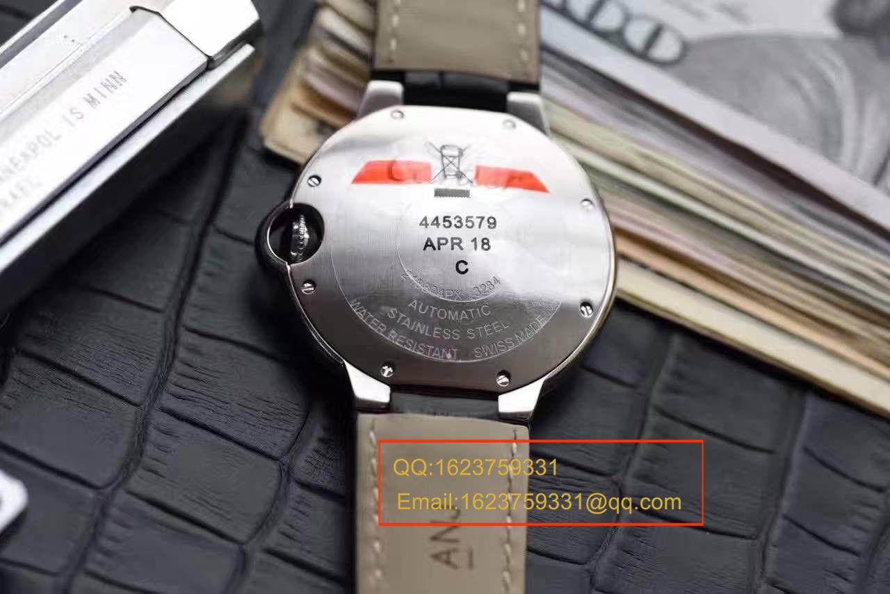 【HBBV6厂一比一超A高仿手表】卡地亚蓝气球系列WE902065女士33毫米镶钻机械腕表