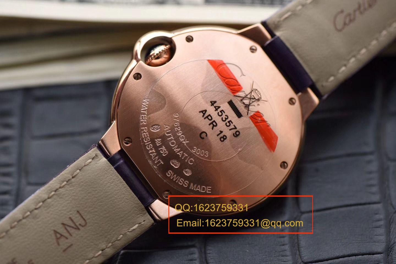 【HBBV6厂1:1精仿手表】卡地亚蓝气球系列WE902040(33毫米)WE902028(36毫米)女士钻钉机械腕表