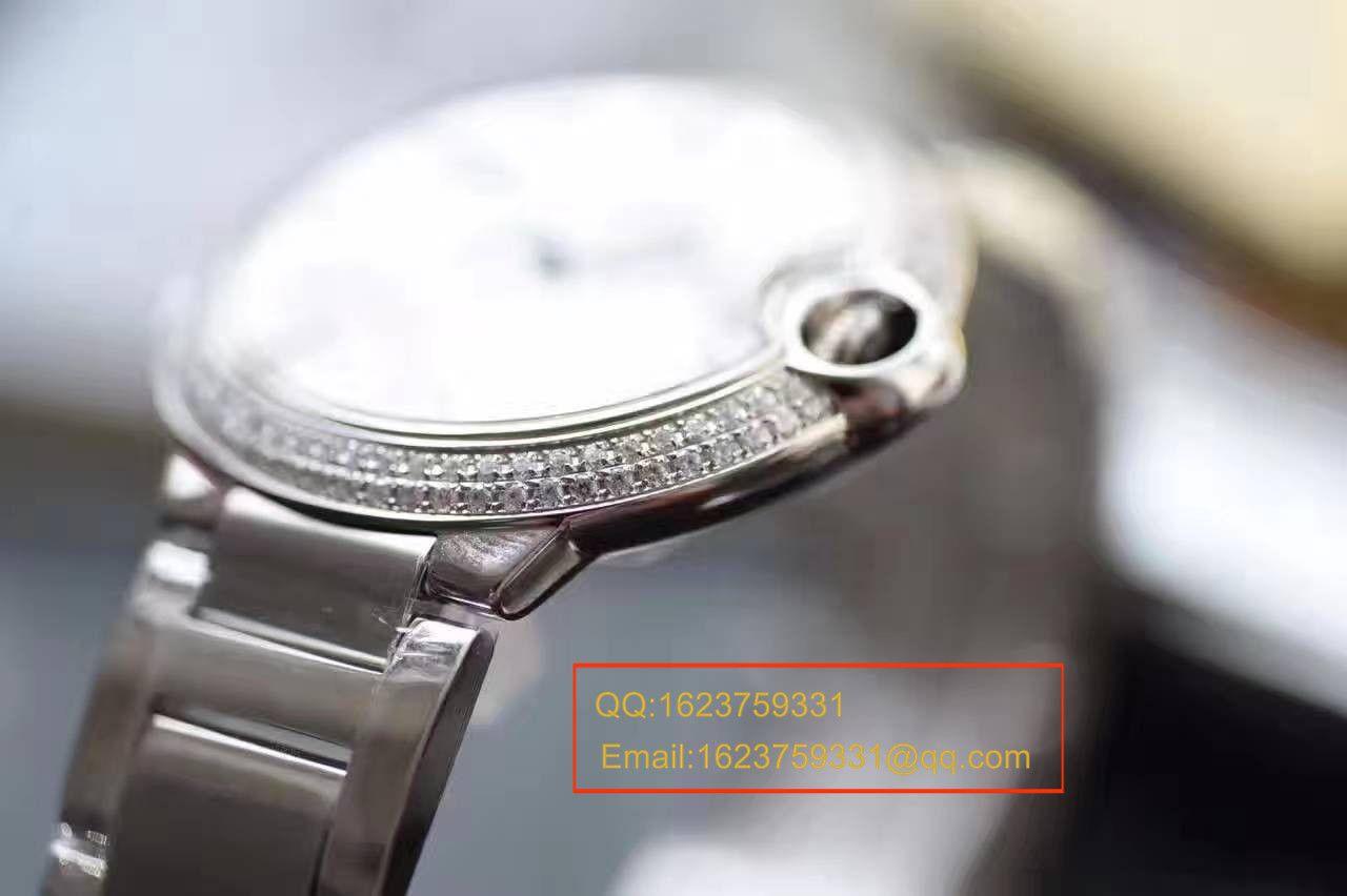 【HBBV6厂一比一超A高仿手表】卡地亚蓝气球系列WE9009Z3男装42毫米镶钻腕表 / K120