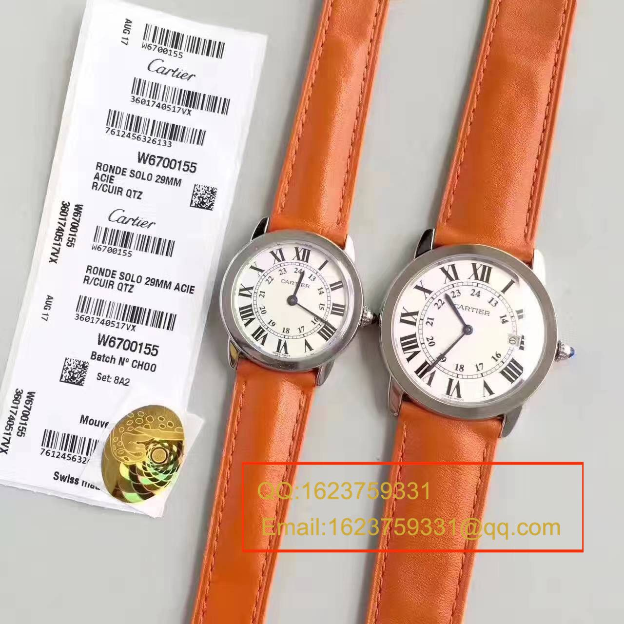 【K11厂正品开模顶级复刻手表】卡地亚RONDE DE CARTIER伦敦SOLO系列W6700155、W6700255女士石英腕表
