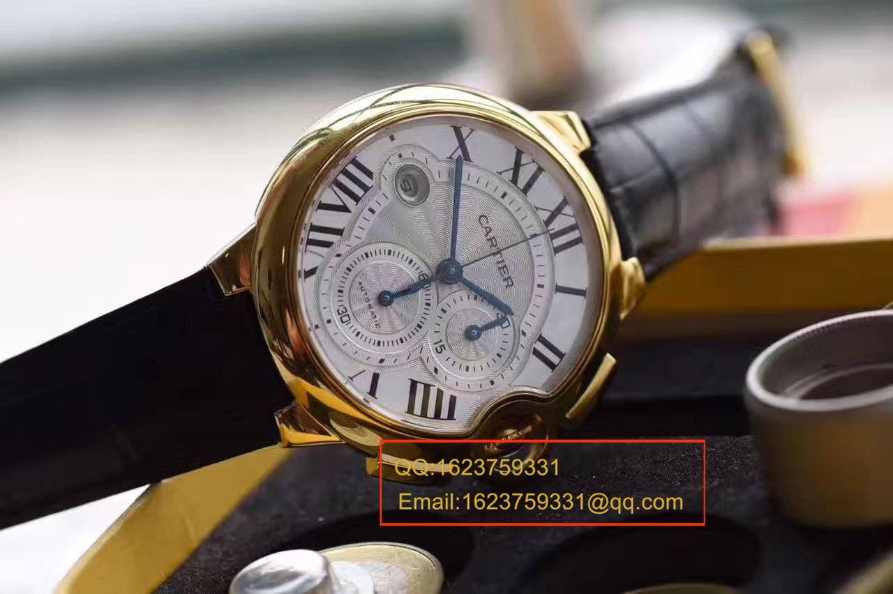 【独家视频测评OF厂一比一超A高仿手表】卡地亚蓝气球系列W6920007腕表 / KBB038