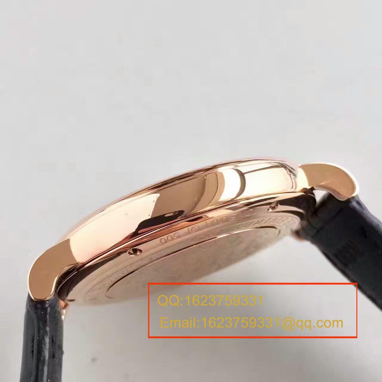 【独家视频测评MK厂1:1超A高仿手表】万国柏涛菲诺系列IW356511腕表 / WG054