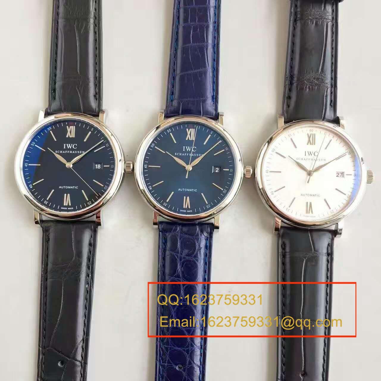 【独家视频测评MK厂一比一超A精仿手表】万国柏涛菲诺系列IW356505精钢米兰表链腕表