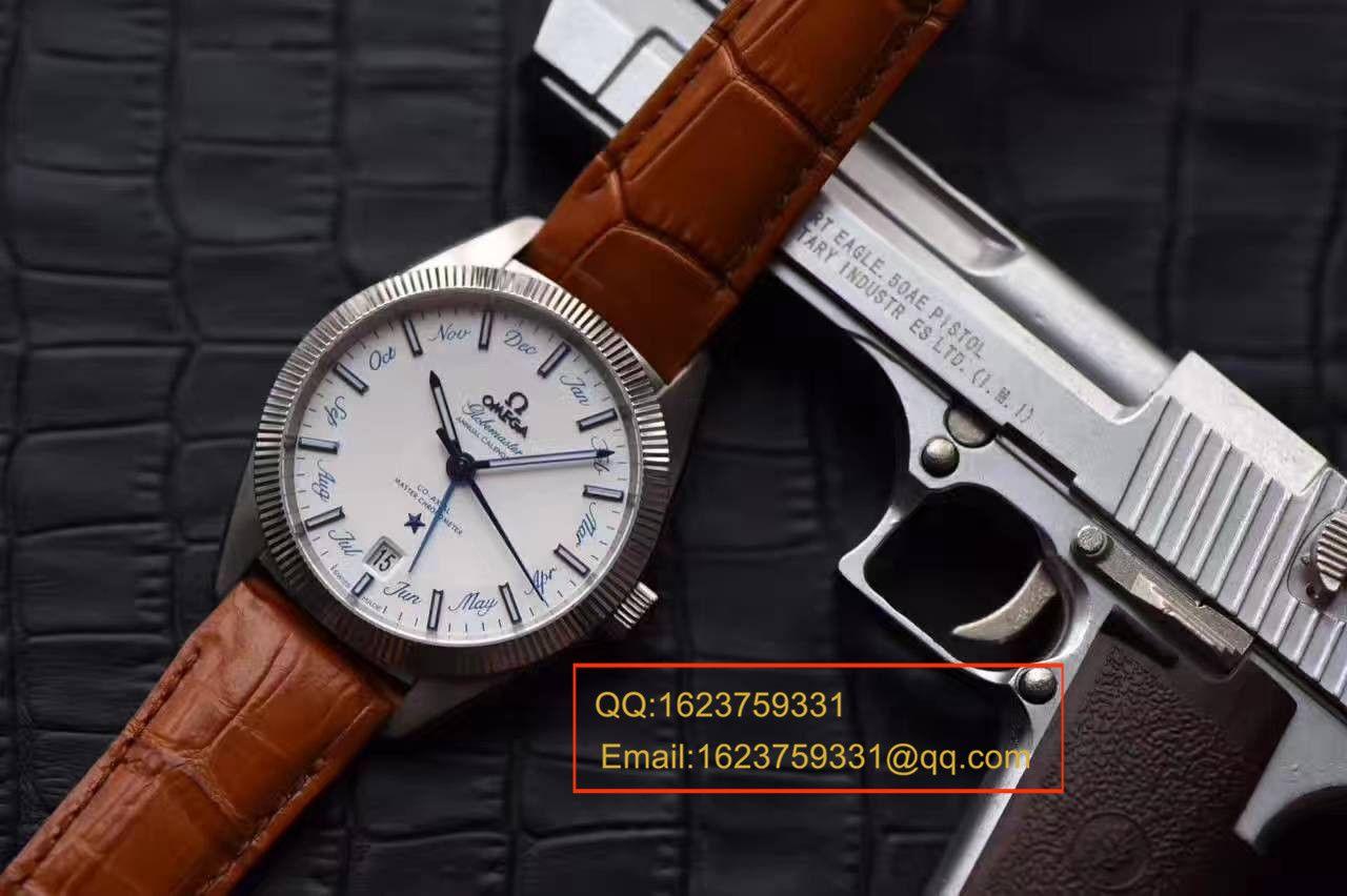 【独家视频测评OF厂一比一超A高仿手表】欧米茄星座系列130.33.41.22.02.001尊霸年历腕表