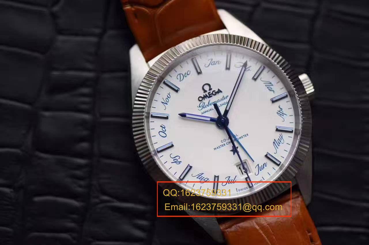 【独家视频测评OF厂一比一超A高仿手表】欧米茄星座系列130.33.41.22.02.001尊霸年历腕表 / M292