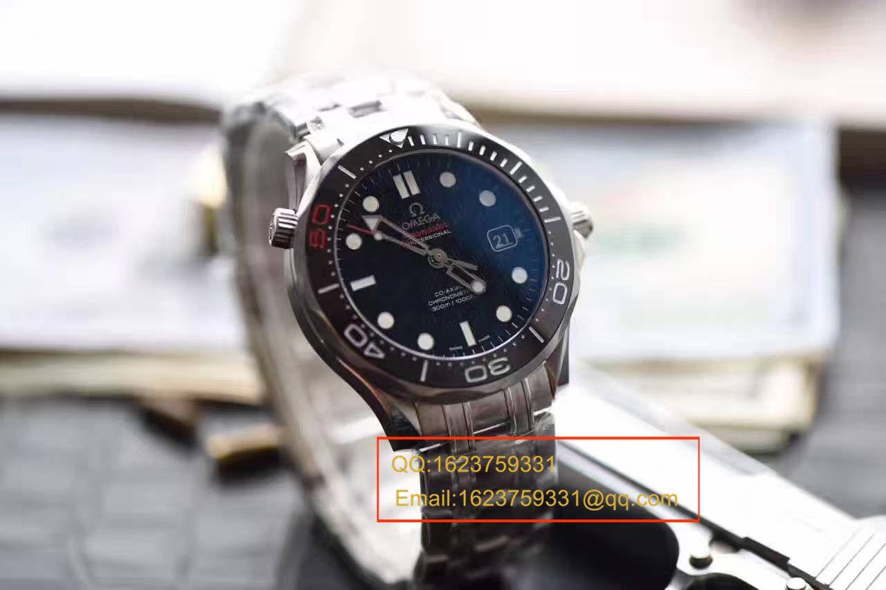 【独家视频测评一比一超A高仿手表】欧米茄海马300M系列占士邦007特别版212.30.36.20.51.001腕表 / M302