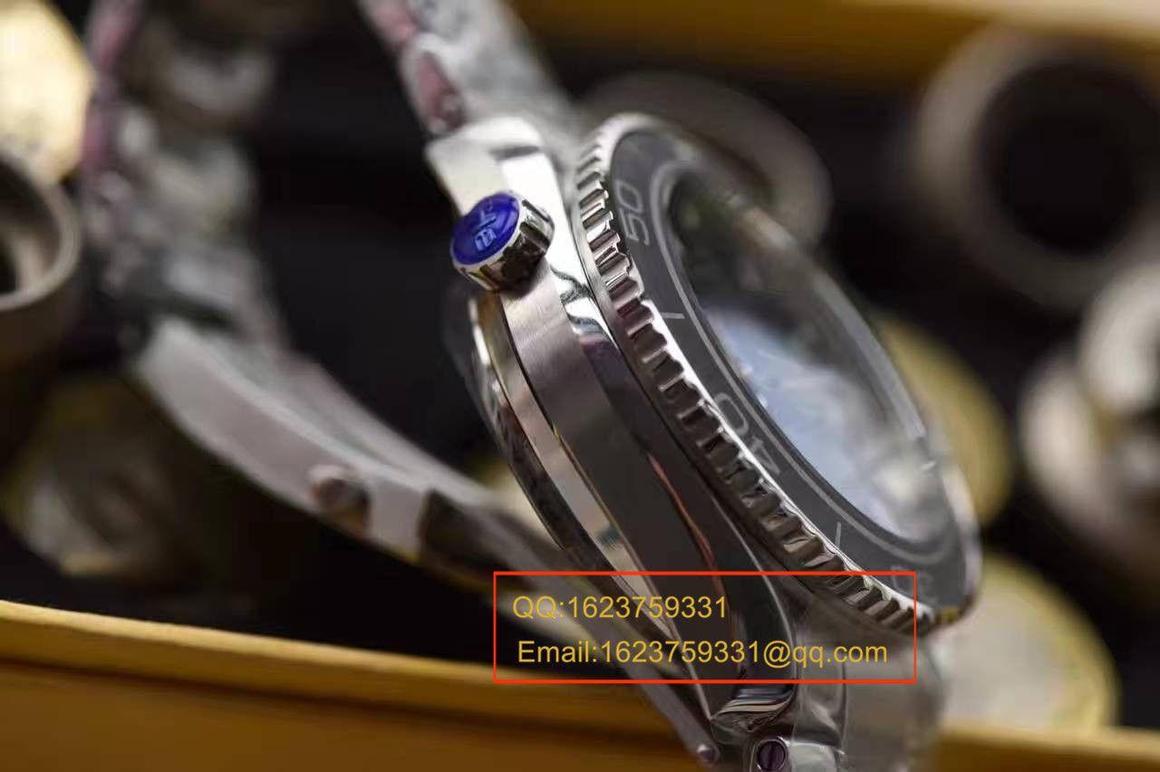 【KW厂一比一超A高仿手表】欧米茄海洋宇宙600M计时款232.30.46.51.01.001腕表