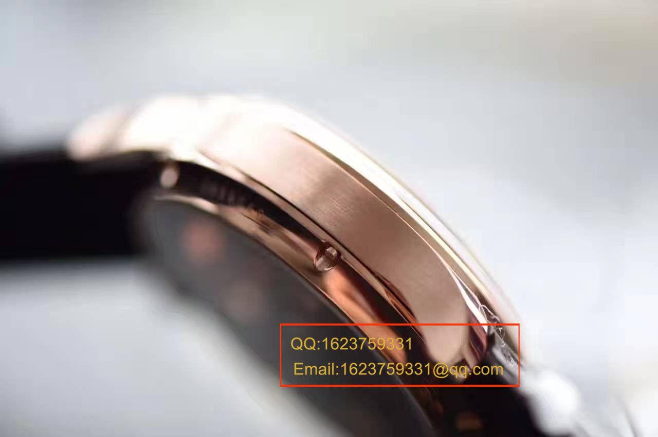 【独家视频测评】【YL厂一比一超A复刻手表】万国葡萄牙系列IW504202自动陀飞轮逆跳腕表