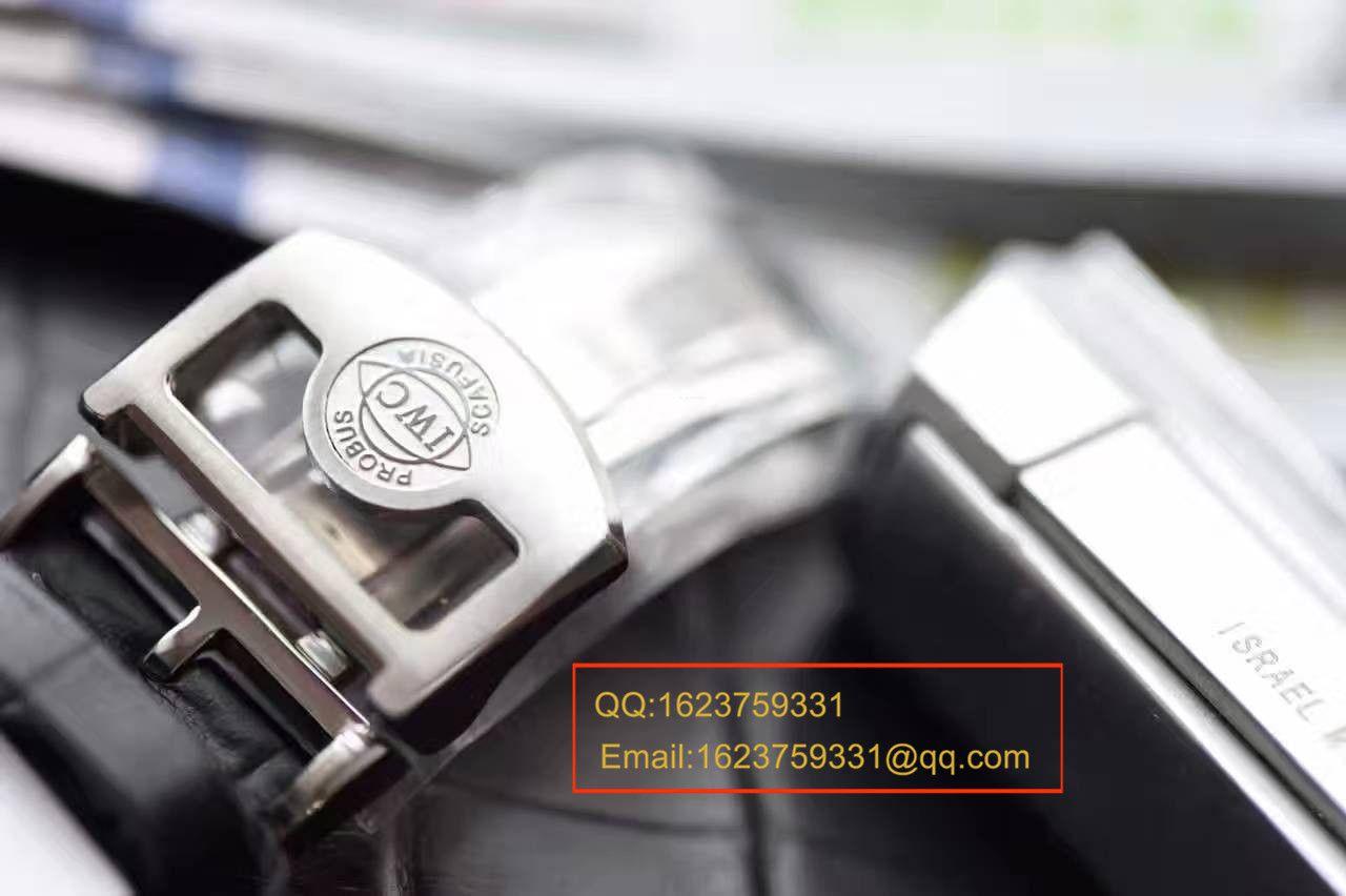 【独家视频测评ZF一比一超A精仿手表】万国葡萄牙系列系列IW500704《万国葡七黄金钉》腕表