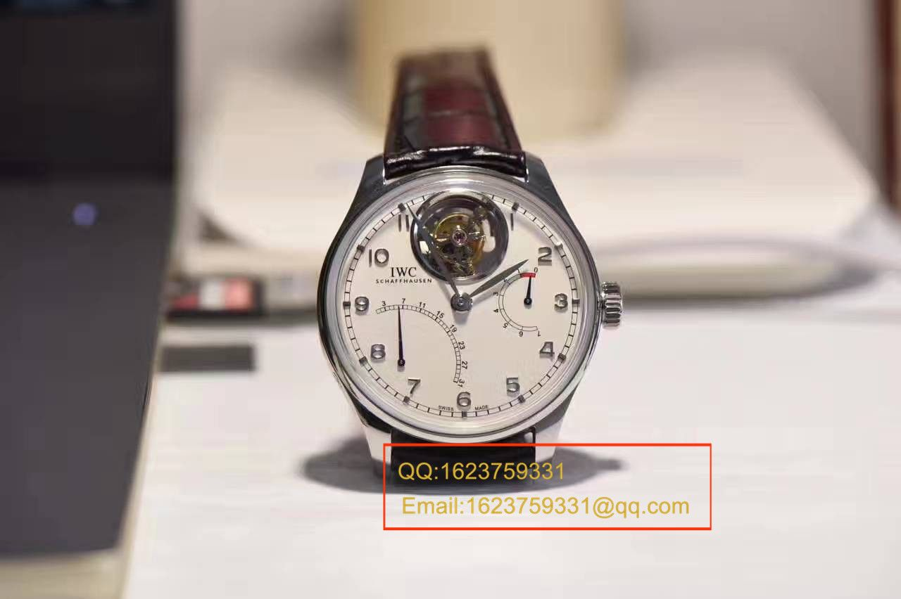 【独家视频测评YL厂一比一超A高仿手表】万国葡萄牙陀飞轮逆跳腕表系列IW504601腕表