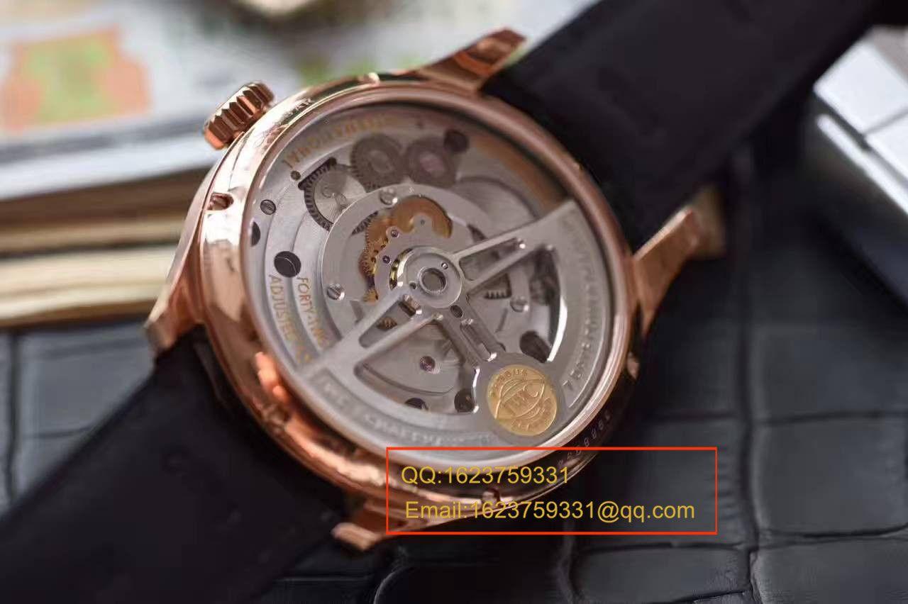 【独家视频测评YL厂1:1顶级复刻手表】万国葡萄牙系列IW546305真陀飞轮腕表