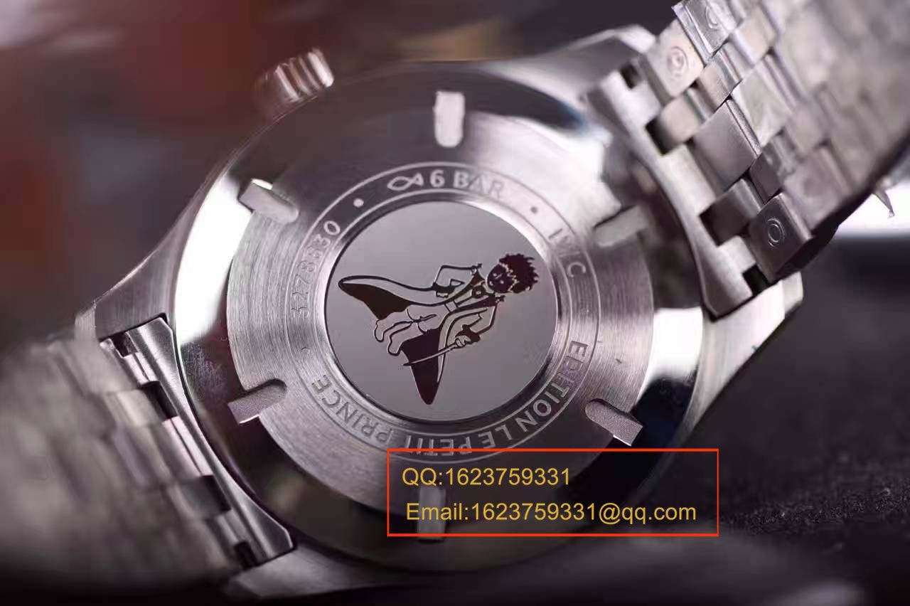 """【独家视频测评一比一超A高仿手表】万国马克十八飞行员腕表""""小王子""""特别版系列IW327014腕表"""