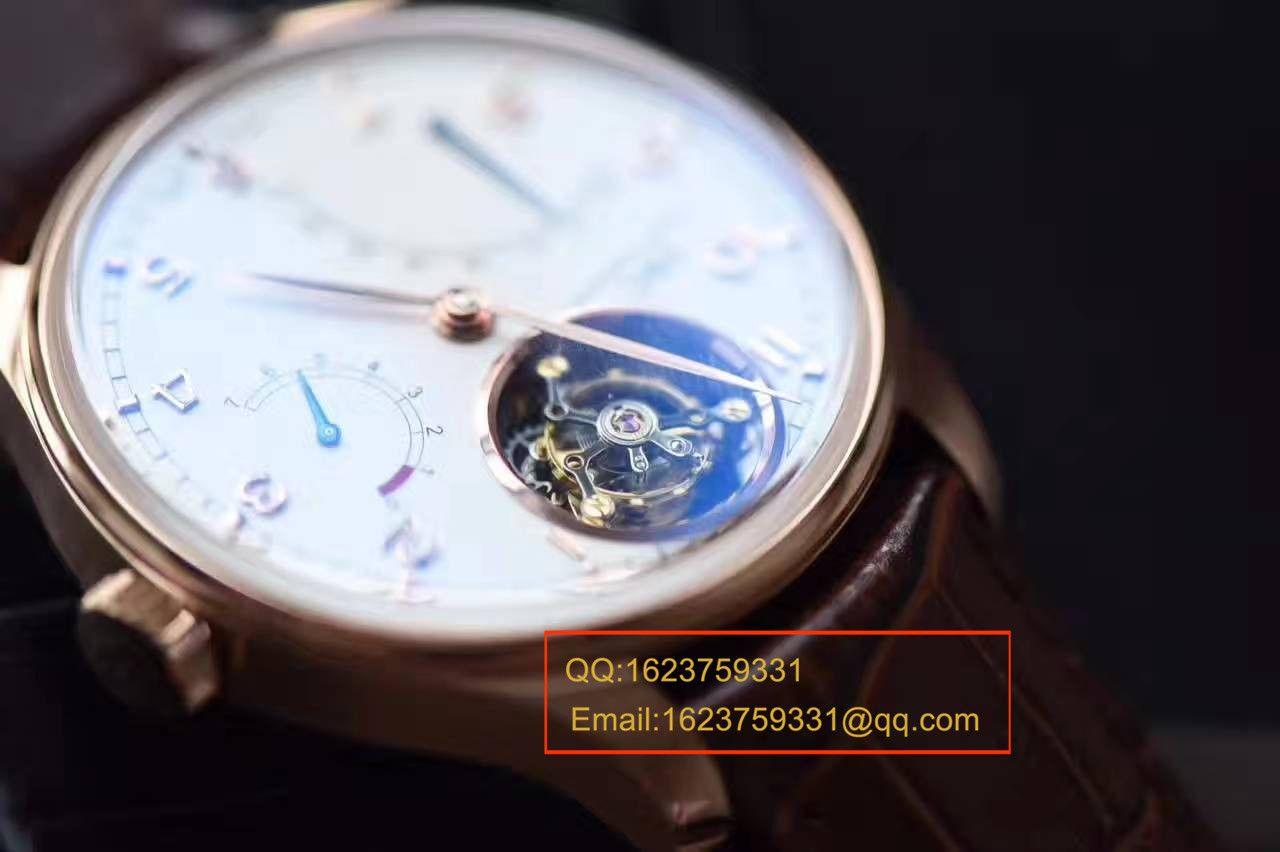 【YL厂一比一超A高仿手表】万国葡萄牙系列IW504402自动陀飞轮逆跳腕表 / WG069
