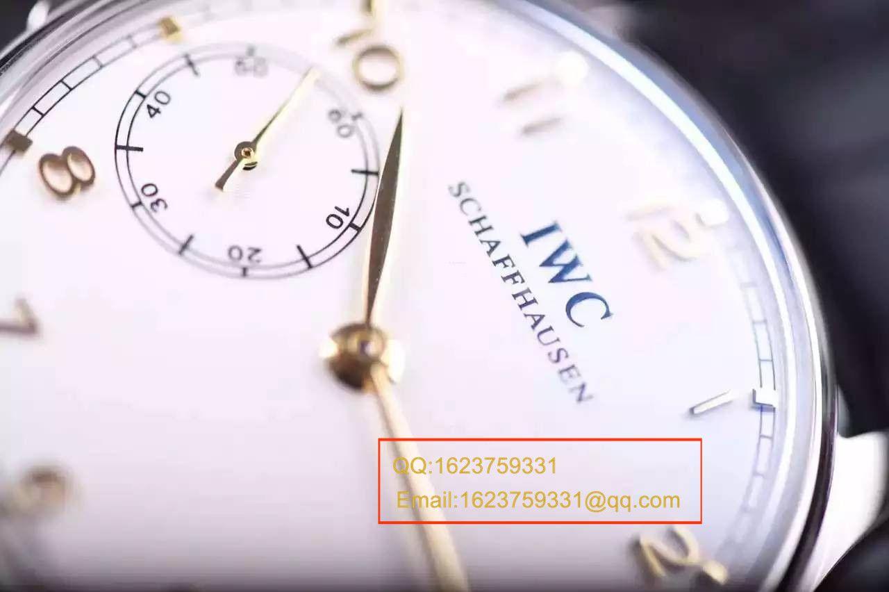 【独家视频测评YL厂1:1复刻手表】万国葡萄牙系列IW524204《万国三问》腕表 / WG271