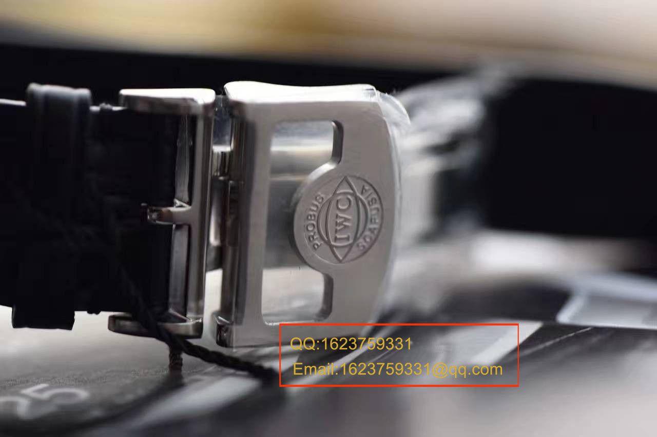 【独家视频测评ZF厂一比一超A高仿手表】万国葡七V5最高版本《万国七日链》IW500703男表