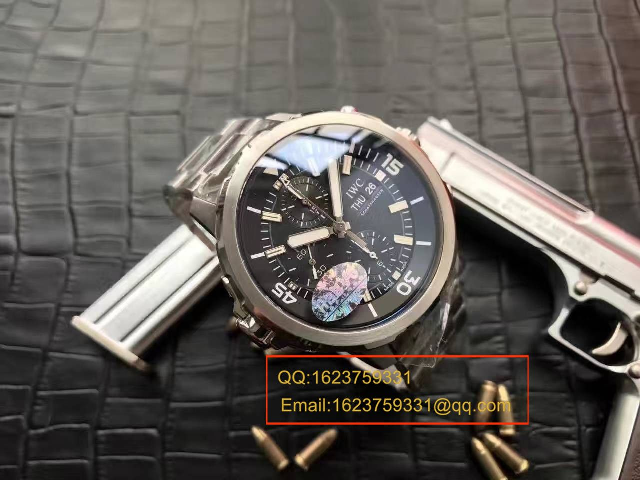 【独家视频测评一比一超A高仿手表】万国海洋时计CHRONOGRAPH计时系列 IW376804腕表 / WG16501