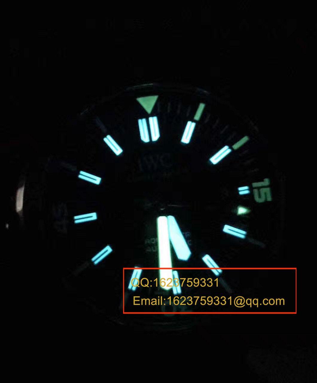 【独家视频测评1:1超A高仿手表】万国海洋时计系列CHRONOGRAPH计时IW329001腕表