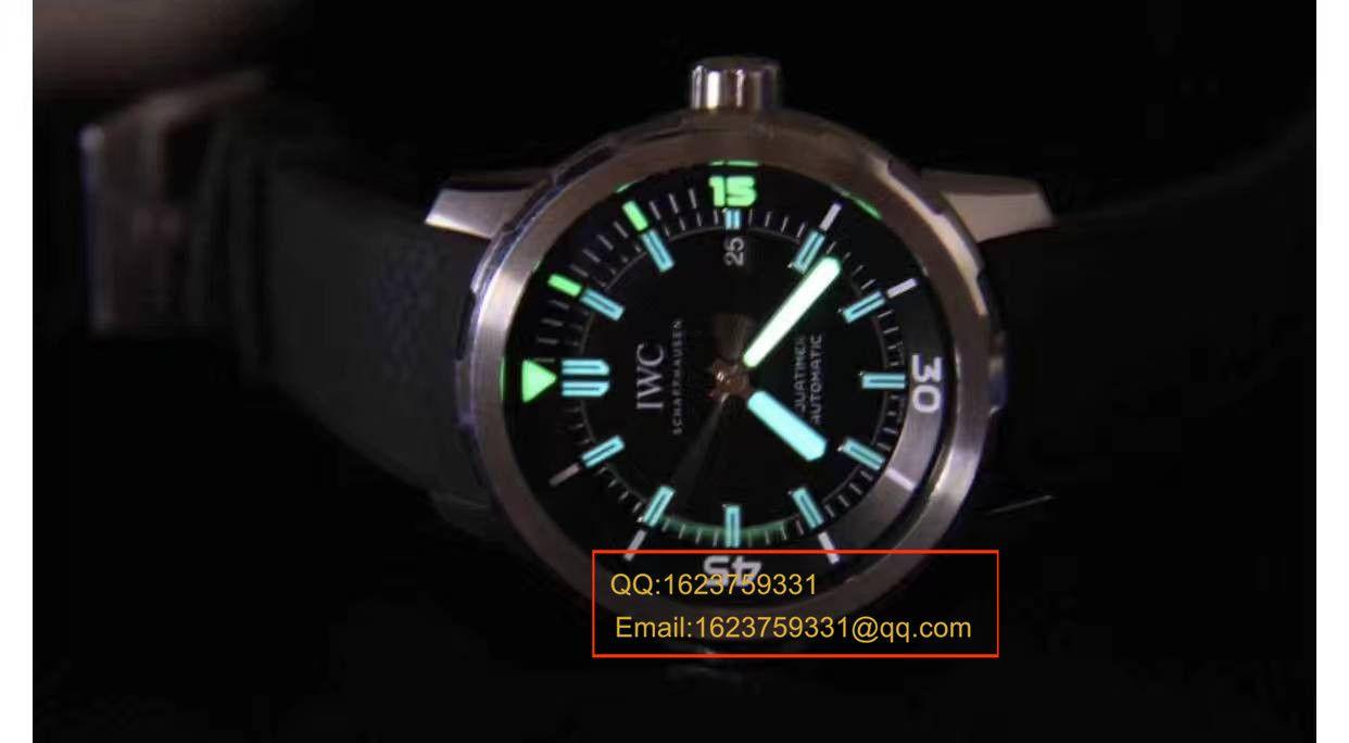 【独家视频测评复刻手表】万国海洋时计系列CHRONOGRAPH计时IW329001腕表 / WG165