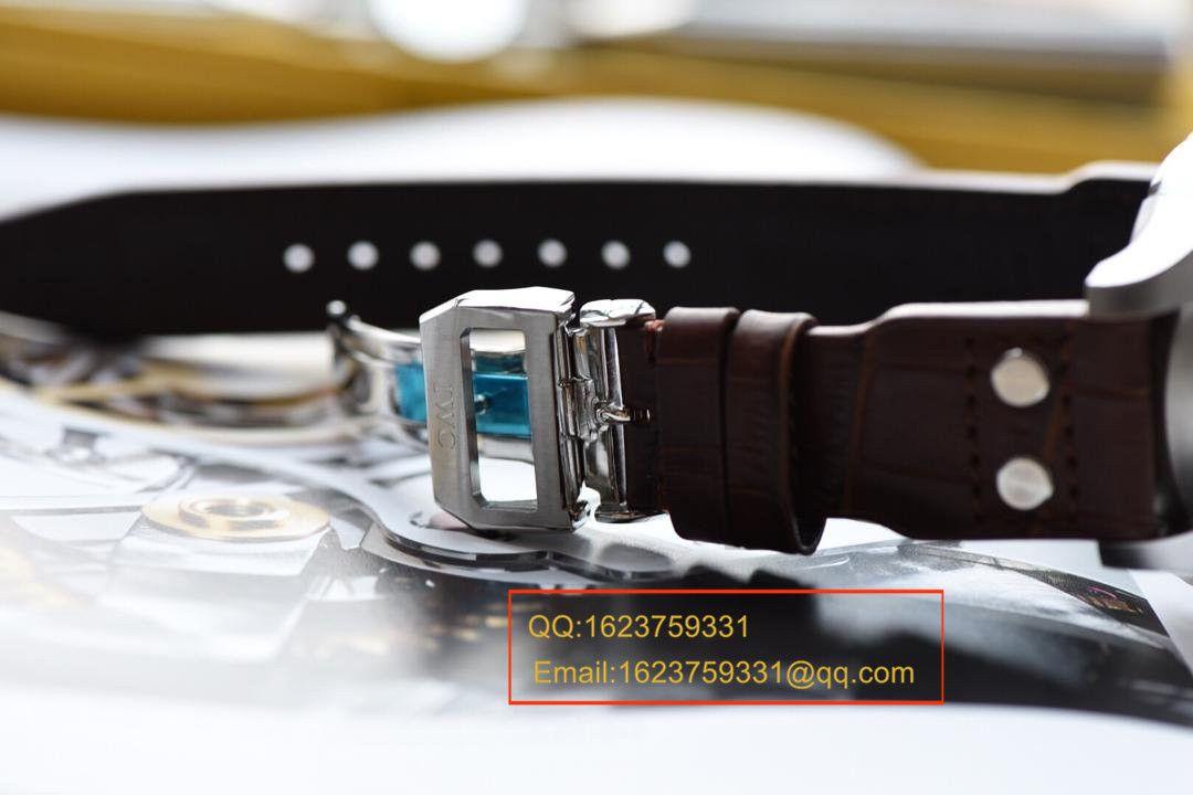 【独家视频测评】【KW厂1:1高仿手表】万国飞行员IW500301涡轮大飞男士机械手表 / WAG110