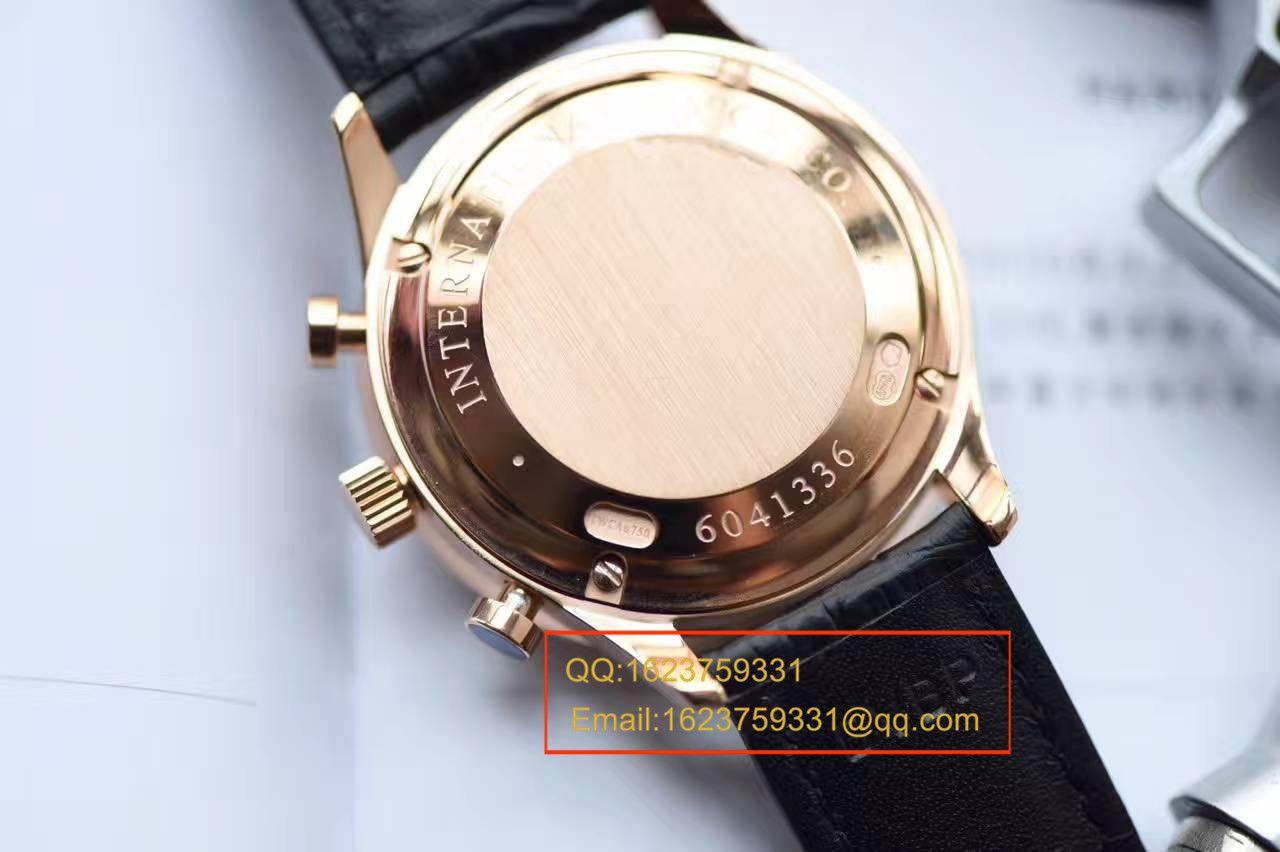 【YL厂V7版本顶级复刻手表】万国IWC葡萄牙计时系列IW371415腕表 / WG303