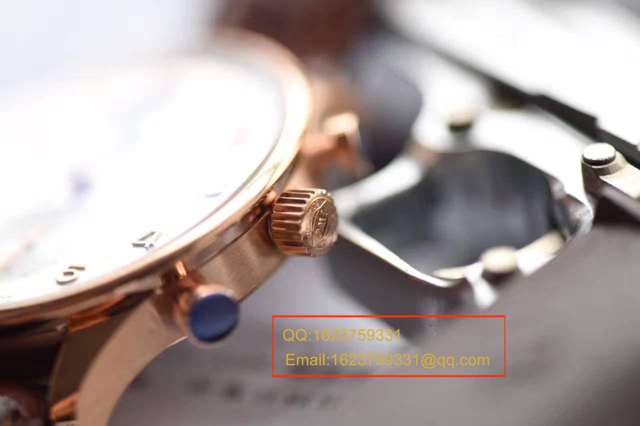 【独家视频测评YL厂V7版本顶级复刻手表】万国葡萄牙计时系列IW371480腕表 / WG302