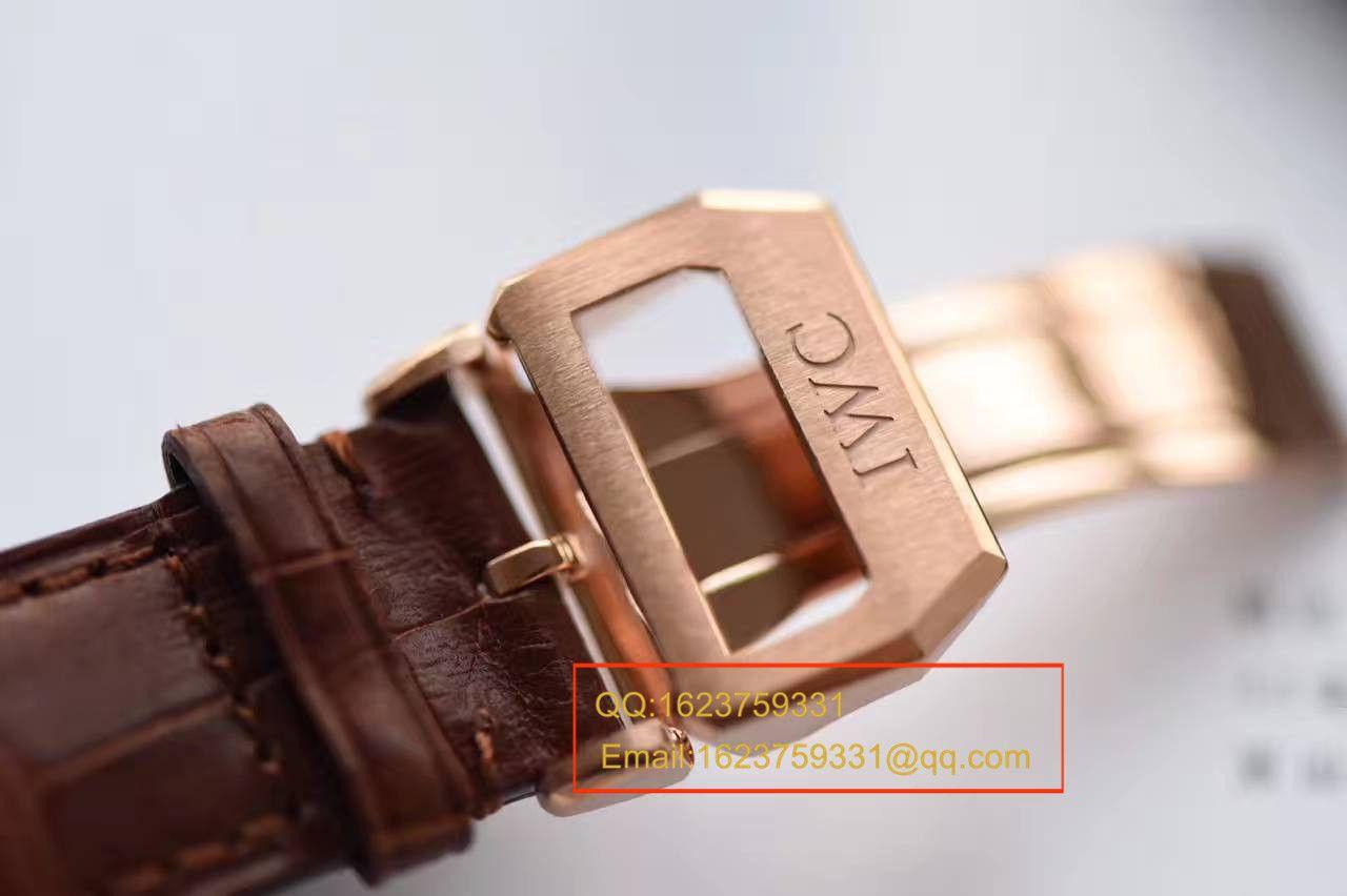 【独家视频测评YL厂V7版本葡计顶级复刻手表】万国葡萄牙系列IW371482腕表 / WG301